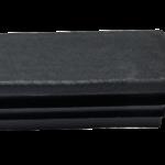 Заглушка прямоугольная 40х80 мм