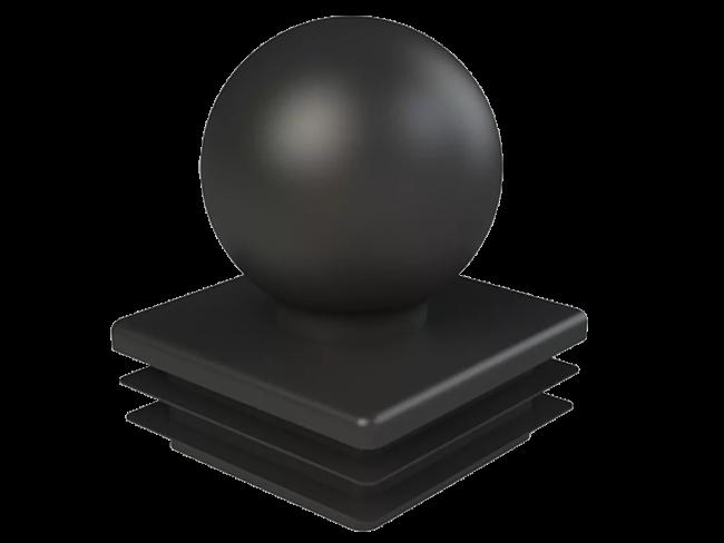 Заглушка квадратная 60х60 мм Шар