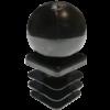 Заглушка квадратная 20х20 шар
