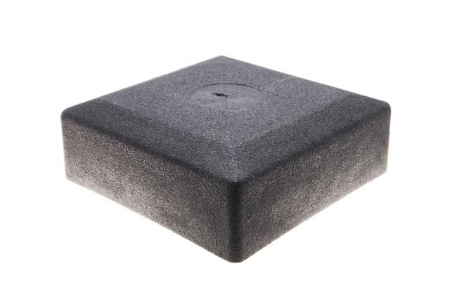 Заглушка квадратная наружная 100х100 мм